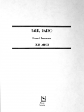 Talk, Radio: Poems of Transmission